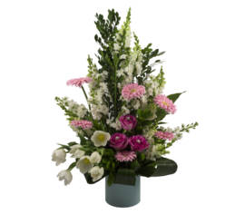 Arrangement Lueur de rose