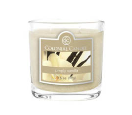 Bougie parfumée Colonial Candle 3,5 oz – Vanille