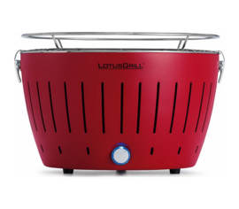 Barbecue LotusGrill Régulier Rouge G-RO-34, sac de transport inclus