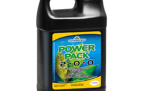 Power Pack 1 gal. (4 L) solution de micro-éléments