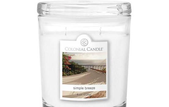 Bougie parfumée Colonial Candle 8 oz – Brise