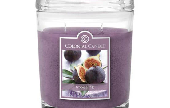 Bougie parfumée Colonial Candle 8 oz – Figue tropicale