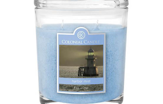 Bougie parfumée Colonial Candle 8 oz – Brume du port