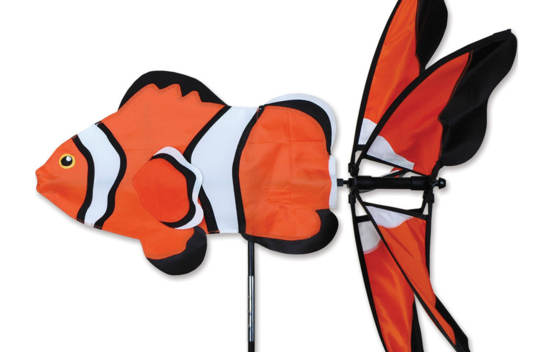 Vire-vent Poisson Clown 24''