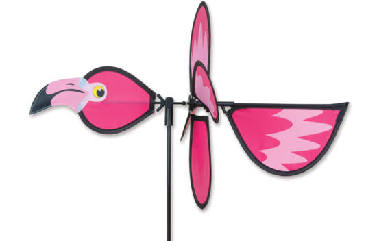 Vire-vent Flamant Rose 20""